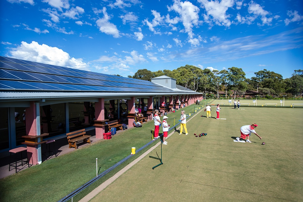 Commercial Solar Energy Project in Culburra Bowling Club NSW