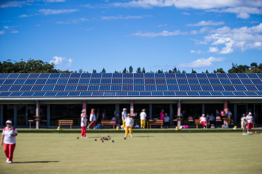 Commercial Solar Project  in Culburra Bowling Club NSW