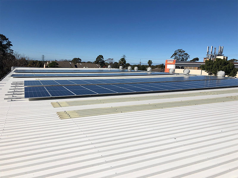 Top Commercial Solar Installer Project Sandhurst Fine Foods Australia