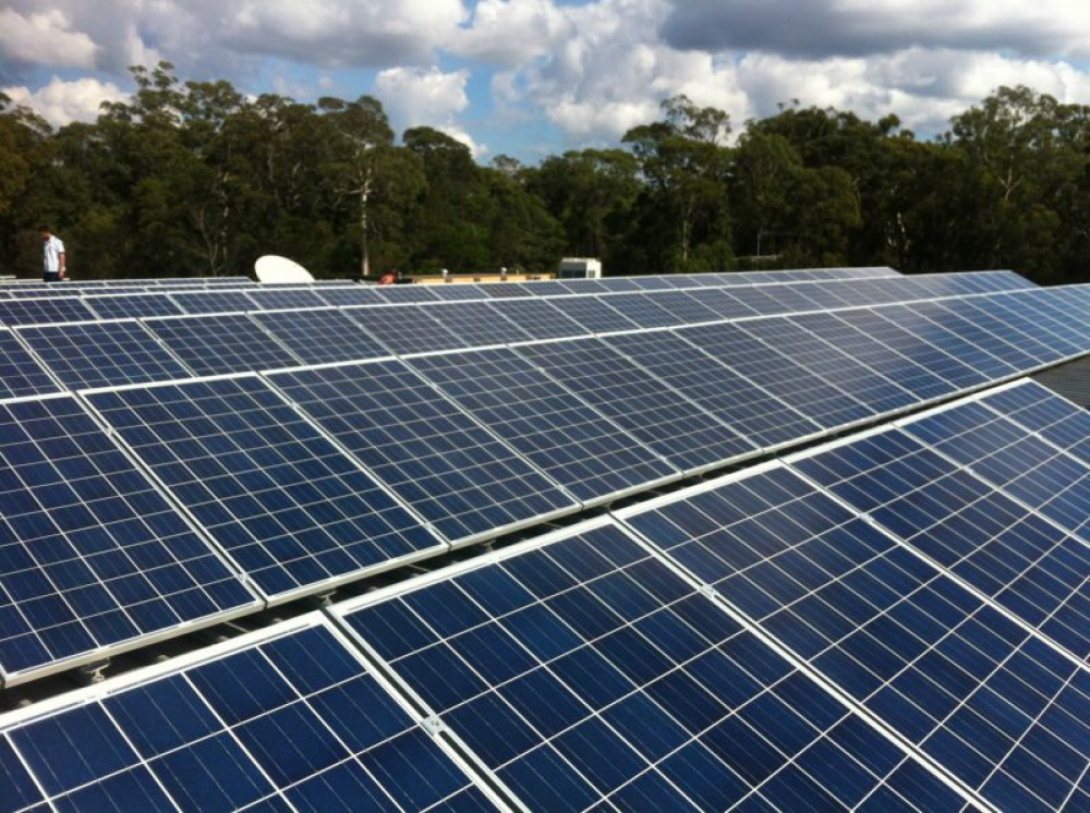 Commercial Solar Installation Project in Huskisson Bowling Club NSW
