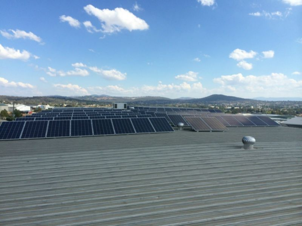 Top Commercial Solar Installer Project Taylors Windows