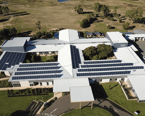 Commercial Solar Energy Project in Junee Hospital NSW