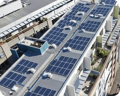 Commercial Solar Project Fusion Apartments Australia
