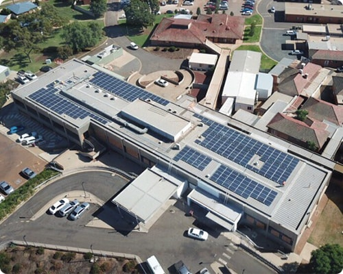 Commercial Solar Project Griffith Hospital NSW