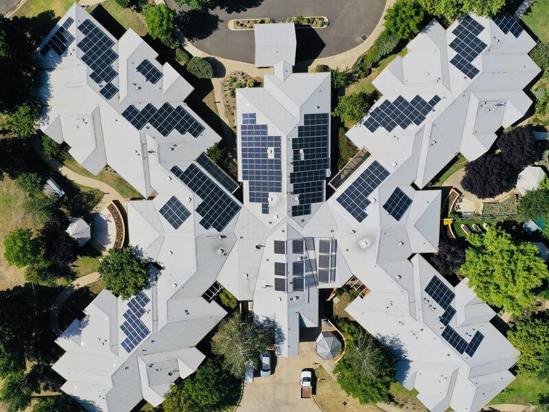 Commercial Solar Energy Project Griffith Hospital Australia
