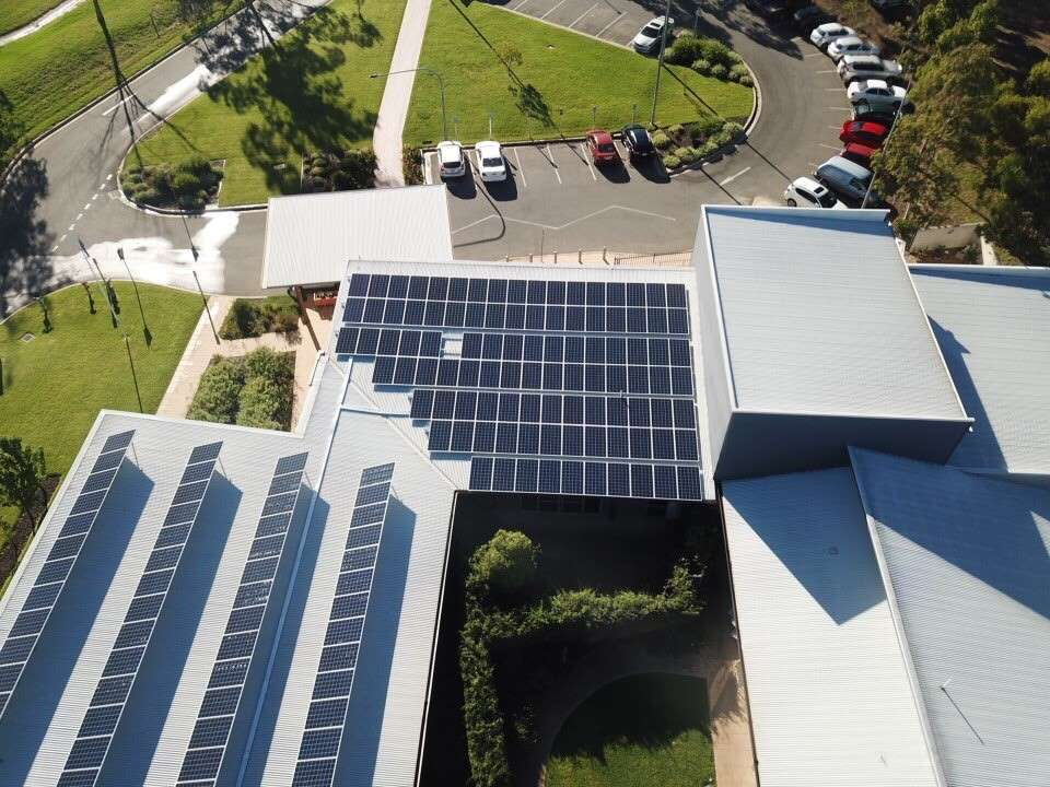 Commercial Solar Energy Project Junee Hospital Australia
