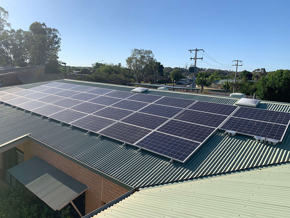 Commercial Solar Power Project Hay Hospital Australia