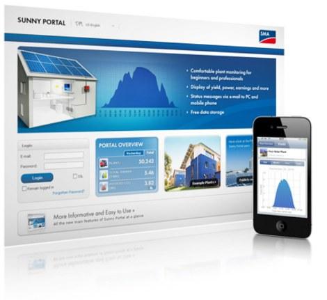 sunny portal app
